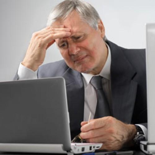 Работният стрес води до сърдечни болести при по-възрастните мъже