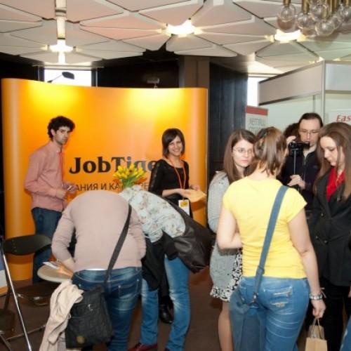 """Хиляди български студенти получиха възможност за старт в кариерата си на форума """"Национални дни на кариерата"""" 2014"""