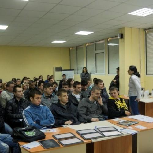 Над 3000 ученици се включиха в кампания на Samsung за професионално ориентиране