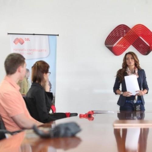 Александра Жекова откри десетото издание на стажантската програма на Мтел
