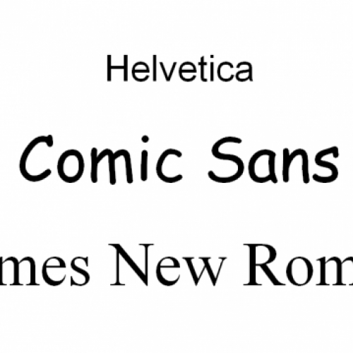 Идеалният шрифт за писане на CV