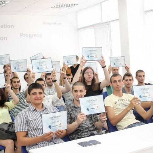 20 младежи повишиха дигиталните си умения и възможностите за професионална реализация