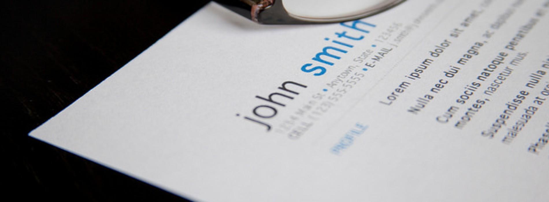 3 нелепи грешки в CV-то, които могат да ви изиграят лоша шега