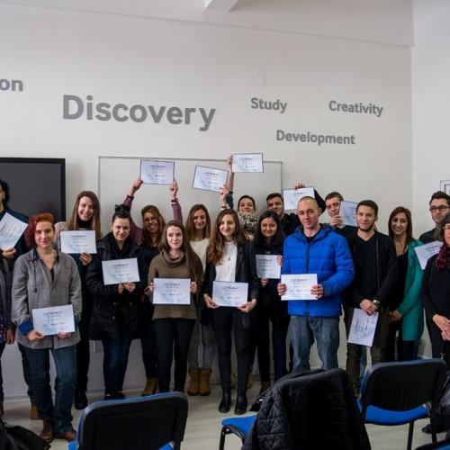 18 млади художници със сертификати за дигитални умения в сферата на уеб технологиите