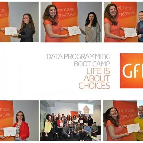 Успешно завърши първият Data Programming Boot Camp организиран от GfK България