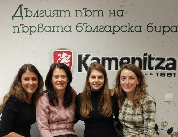 kamenitza-team-virtual-career-days