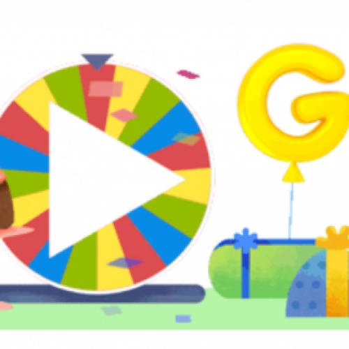 Честит 19-ти рожден ден на Google