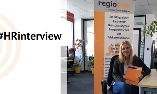 """#HRInterview – Дарина Гичева, Експерт """"Подбор на персонал"""" в Regiocom"""