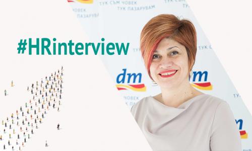 #HRinterview: Евелина Великова, управител на dm България