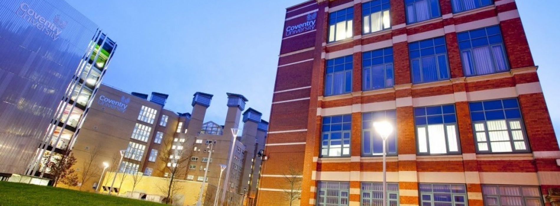 Coventry University с индивидуално представяне у нас