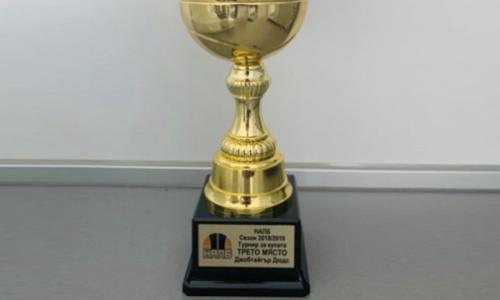 ДжобТайгър Дюдс се поздрави с третото място в турнира за купата на Националната аматьорска лига по баскетбол за сезон 2018/2019
