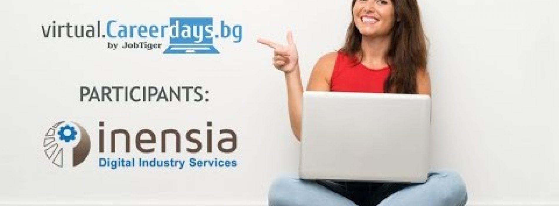 Работодателите на Виртуални дни на кариерата 2020: Inensia