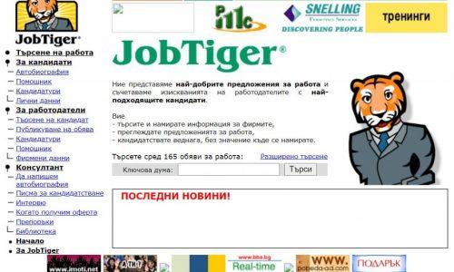 Началото на JobTiger.bg – част I
