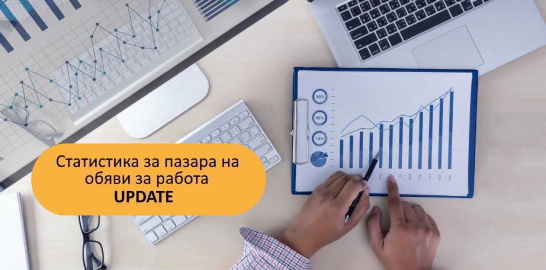 ИТ секторът вече заема второ място по дял на предложенията за работа в страната